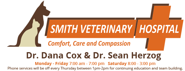 Logo for Smith Veterinary Hospital Thornhill, Ontario